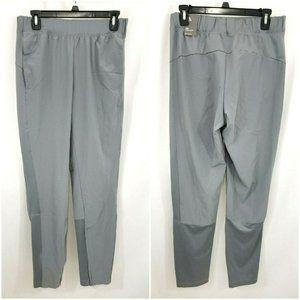 Adidas Mens Slim Normal Length Gray Joggers